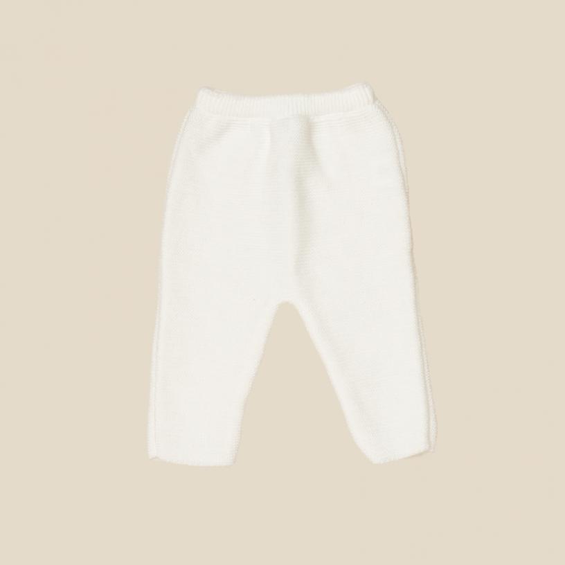 LE PANTALON  Taille-3-6 MOIS Couleur-Fleur de coton