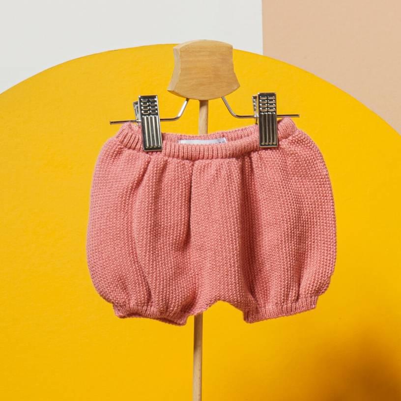 LE BLOOMER  Couleur-Vieux rose Taille-6-12 mois