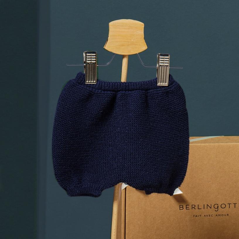 LE BLOOMER  Couleur-Bleu marine Taille-6-12 mois